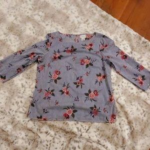 Liz Claiborne %100 cotton top